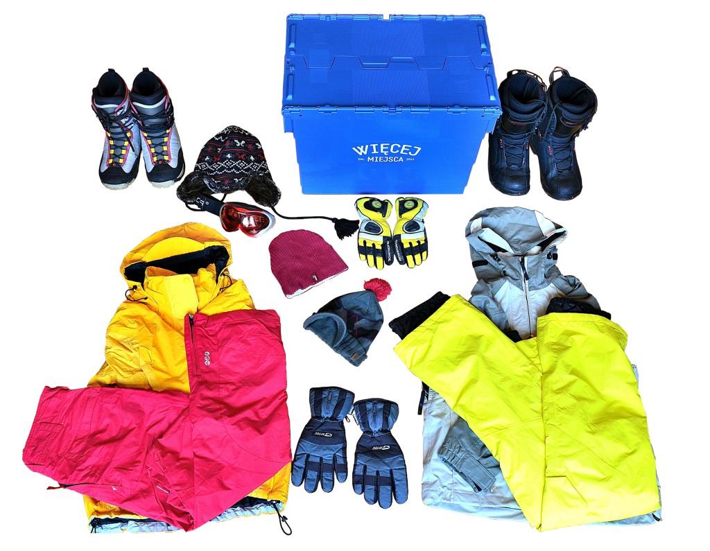 Wiecej Miejsca_Zestaw snowboardowy dla dwojga_bez tla